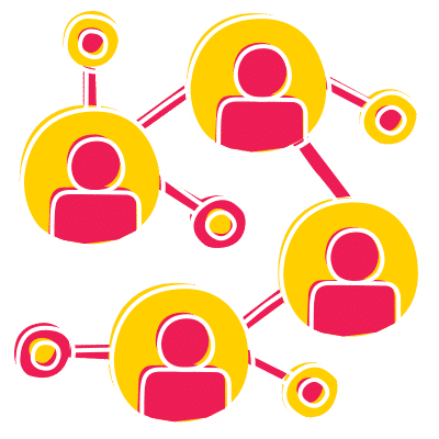 réseau de travailleurs indépendants